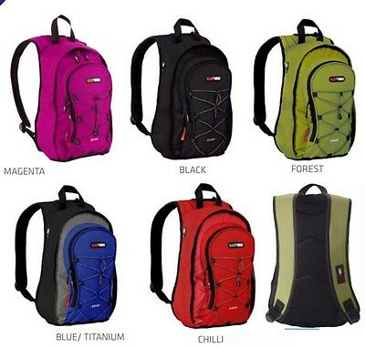 BlackWolf GoGo Small 12LT Street Back Pack Bag Assorted Colours
