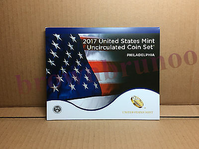 2017 P Uncirculated Coin Set 10 Coins United States Min PHILADELPHIA w/ COA