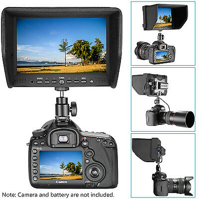 Neewer NW708-M 7 inches On-Camera Field Monitor for Canon Nikon Sony