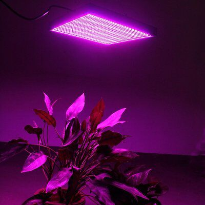 120W LED Grow Light Full Spectrum Panel Hydro Veg Bloom Flower Indoor Plant Lamp