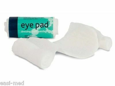 Eye Pad c/w Bandage First Aid Dressing No. 16 (6 Pack)