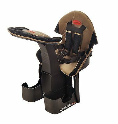 WeeRide Deluxe Front Centre Mounted Child Bike Seat Bicycle Safety Security Baby
