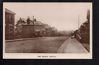 Birtley - The Avenue - real photographic postcard