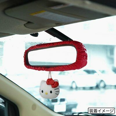 NEW KTD006W-08 Hello Kitty Car Rear View Mirror Cover