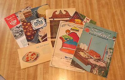 Vintage Recipe Booklets - Lot of 7