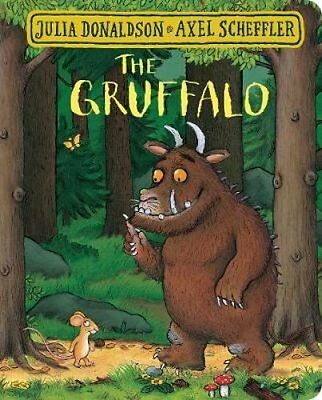 The Gruffalo by Julia Donaldson (Board book, 2017)