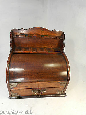 Antique Oak Smokers Cabinets , Pipe , Tobacco Boxes  ,  ref2666