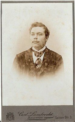 CDV photo Herrenportrait - Hannover um 1900