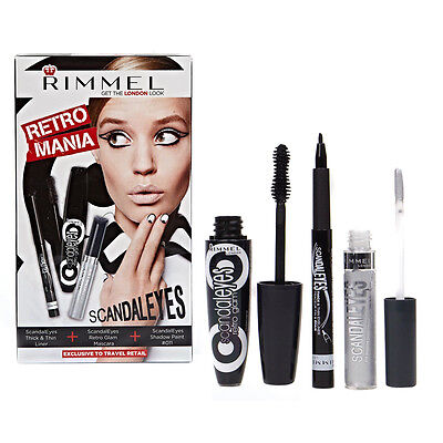 Rimmel London RETRO MANIA Scandal Eyes. Liner, Mascara & Shadow Paint-SC34