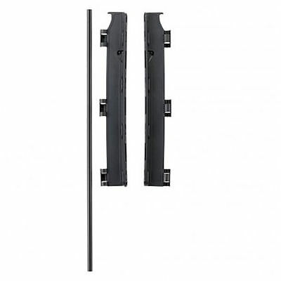 New Babydan Black Wall Mounting Kit For Configure Gates And Babydens