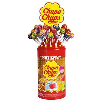 Chupa Chups The Best Of Sucettes aux Goûts, 100 Pièces, 1200g
