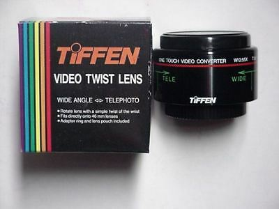New Tiffen Video Twist Lens - Wide Angle-Telephoto