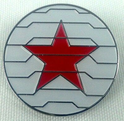 WINTER SOLDIER - Marvel Comics and Movie Series - Enamel Pin - Avengers!  Bucky