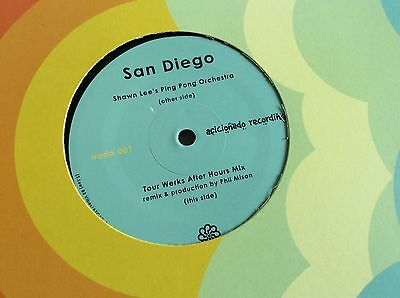 """Shawn Lee's Ping Pong Orchestra San Diego 12"""" Vinyl NEW Mint Jazz Funk Soul"""