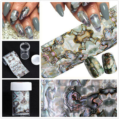 Nail Art Galaxy Starry Transfer Foil Sticker Manicure Tips Decal Decoration DIY