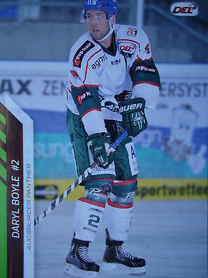 203 Daryl Boyle Augsburger Panther DEL 2013-14