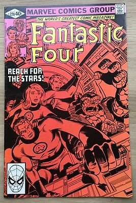 Fantastic Four #220, 227, 229, 230 and 231. John Byrne art VFN-NM