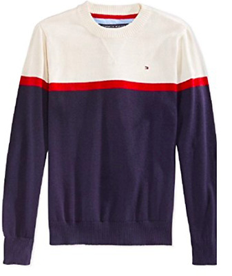 Brand New Tommy Hilfiger Little Boys' Colorblocked Sweater Size 2T