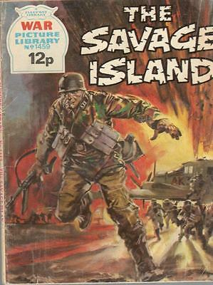 1978  No 1459 33074 War Picture Library  THE SAVAGE ISLAND