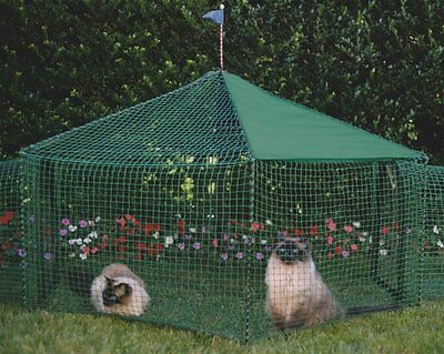 KittyWalk Gazebo Yard and Garden Outdoor Outside Cat Dog Pet Enclosure