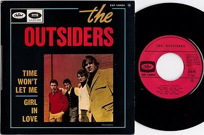 THE OUTSIDERS Time won't let me 1966 Rare French EP P/S Mod club dancer Hear