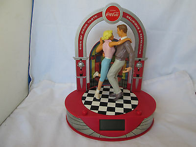 "Rare Vintage 1981 Coca Cola ""Rock Around the Clock"" Alarm Clock Animated"