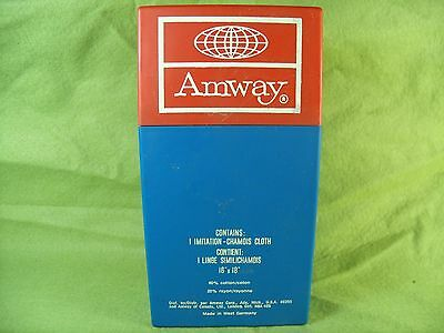 Vintage 1960's Amway West Germany Chamois Cloth in Original Box