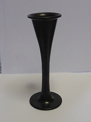 Antique Ebonite / hard rubber Medical monaural Stethoscope -