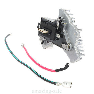 HEATER FAN A/C BLOWER MOTOR REGULATOR RESISTOR UNIT SET for MERCEDES W202 W210