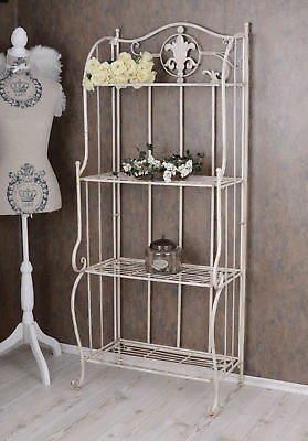 Nostalgia shelf metal shelf Nouveau iron shelf shabby chic