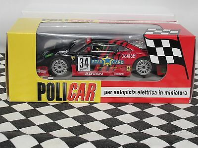 Policar  Ferrari F40  #34 Jgtc 1995  Red  Car03B  1:32 Slot Bnib