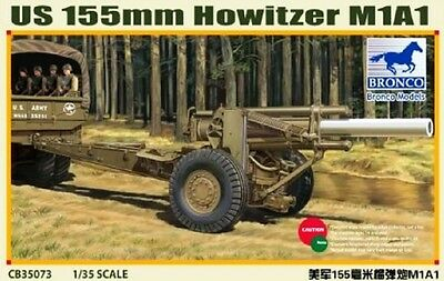 BRONCO CB35073 US 155mm Howitzer M1A1 in 1:35