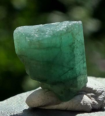 Emerald Crystal High Grade Brazilian Mineral Raw Facet Rough Green Beryl 2g 10ct