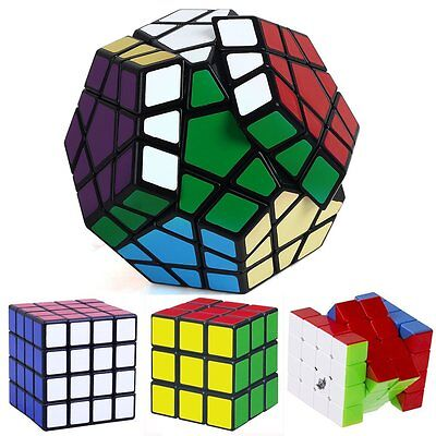 4 Style Magic Cube Cube Puzzle Mind Game Toy Classic Cube Gift Education Toy