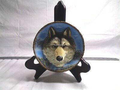 Amy & Addy The Gray Rock Collection 3D Gray Wolf Rock Plate