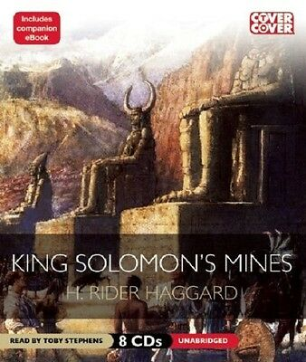 King Solomon's Mines by H. Rider Haggard Unabridged Audio CD NEW