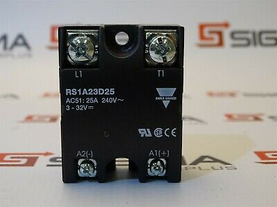 Carlo Gavazzi RS1A23D25 Solid State Relay 240V 25A