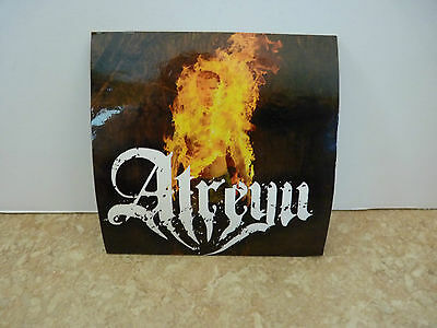 "Atreyu Death Grip On Yesterday Ozzfest RARE Luggage 4"" Sticker PROMO 2006 #2"