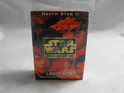 Star Wars Ccg Death Star Ii Light Side Sealed Starter Deck