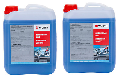 WÜRTH Winter Screenwash Discs Clear Concentrate 10 Liters To -65 Grad