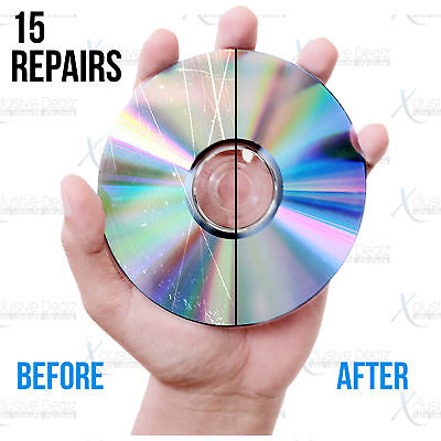 (15) Mail-In Scratch Removal & Disc Repair Service, Games, DVDs, CDs,  Blu-rays