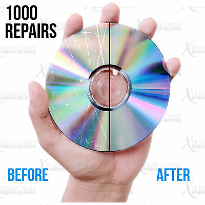 (1000) Mail-In Scratch Removal & Disc Repair Service, Games, DVDs, CDs, Blu-rays