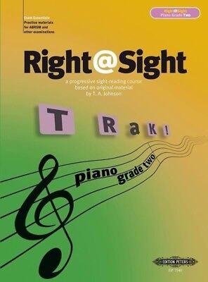 Right @ Sight Piano Grade Two Book *NEW* Music Sight Reading
