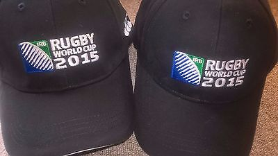 10 X RUGBY ENGLAND 2015 WORLD CUP Canterbury 2015 Baseball Cap Black