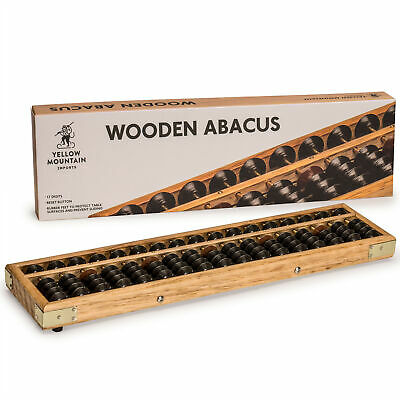 YMI Vintage Style Wooden Abacus (13.75 in) with High Quality Craftsmanship
