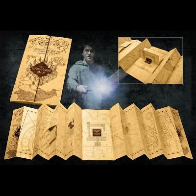 Harry Potter The Marauder's Map Replica Movie Costume Prop Noble Collection