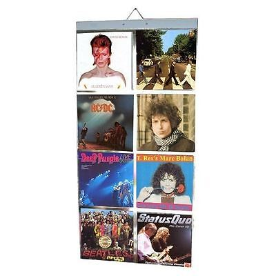 """Picture Pockets for Vinyl 7"""" Singles Records Retro Music Display Photo Frame"""