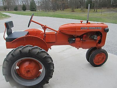 1941 Allis Chalmers C Tractor Fully Restored
