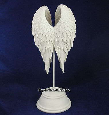Beautiful Angel Wings Peace Figurine | Remembrance Ornament Heavenly Statue NEW