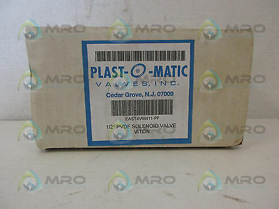 Plastomatic East4V6W11-Pf Valve *new In Box*